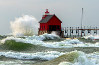 Waves at Grand Haven