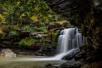 Water falls near Ansted WV